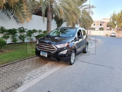 SPECIAL EDITION TITANIUM FORD ECOSPORT 2018 WITH SUNROOF, US SPECS WITH FREE INSURANCE