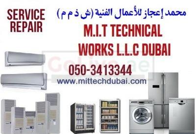 Washing Machine Dishwasher Fridge Repairing Fixing Cleaning in Dubai