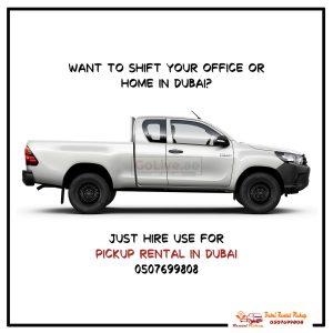 Pickup For Rent In Karama 0559392660 Mr Ali