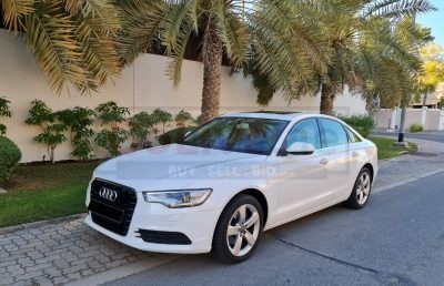 AUDI A6 2012,V6,2.8L ENGINE,QUATTRO ,GCC,LOW MILEAGE,ORIGINAL PAINT,TOP OF THE LINE