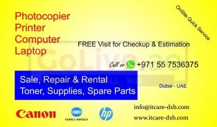 0557536375 Canon Photocopier Printer Repair Dubai