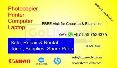 0557536375 Canon Photocopier Printer Repair Dubai
