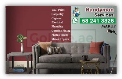 Low Cost Handyman +971555523672