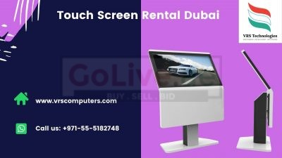 Looking for Touch Screen Kiosk Rentals in Dubai?