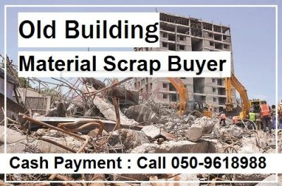 Scrap Buyer Used Old Building Material and Pipes Duct Call 0509618988