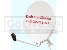 Satellite dish fixing Jumeirah safa 0552641933