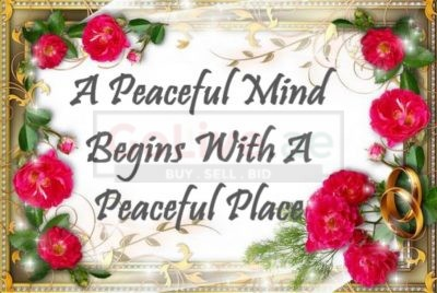 A Peaceful Mind Begins With A Peaceful Place