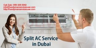 Low Cost Central AC Service Sharjah 056 326 0042