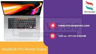 Hire MacBook Pro for Businesses in Dubai