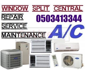 LG Carrier Samsung York OGeneral Ac Service Repair in Dubai