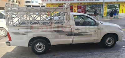 Pickup truck for rent in Dubai town city 050 357 1542