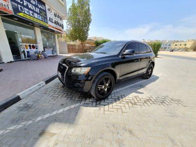 Audi Q5 2010 Full option Imported Black Color Accident Free