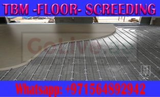 Self-leveling floor screeding Company Ajman Dubai Sharjah