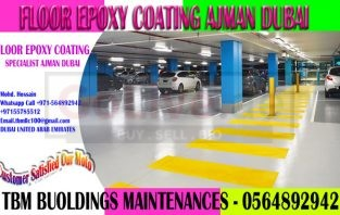 Warehouse Epoxy Paint Company Ajman Dubai Sharjah