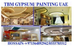 Office Gypsum Partition work Contractor Umm Al Quwain Ajman Dubai Sharjah