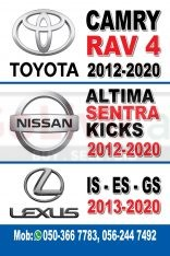 Lexus IS GS ES, Nissan Altima, toyota camry used body parts available
