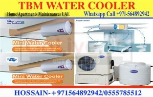 Shower Mini water cooler installation