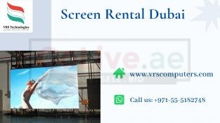 Outdoor LED Screen Rentals for Events in Dubai