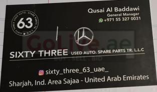 Sixty Three Used Auto Spare Parts TR ( Mercedezs Used Parts )