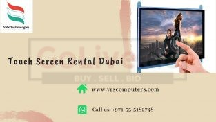 Trusted One Stop Center for Touch Screen Rentals Dubai