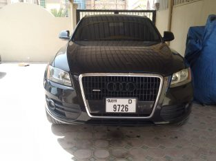 Audi Q5 2010 Full option Imported Black Color Accident Free