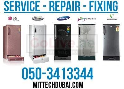 Fridge Repair Fridge Fixing Fridge Cleaning Maintenance in Dubai