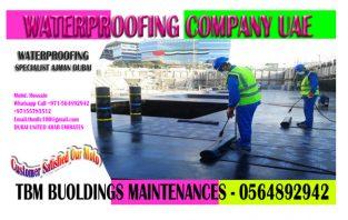 Waterproofing work Company Service In Ajman Sharjah Dubai 0564892942