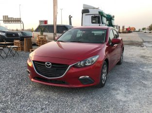 MAZDA 3 2015 GCC SPECS FULLY AUTOMATIC HATCHBACK >> NEW BATTERY<<