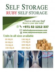 RUBY STORAGE & PACKING SERVICES L.L.C 0508511582