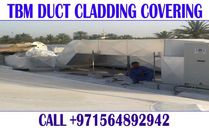 Aluminum Cladding covering contractor Dubai Sharjah Ajman