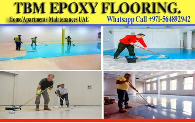 Epoxy Floor Paint work in Dubai Ajman Sharjah