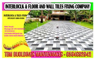 New Interlock Fixing work Contractor in Dubai Sharjah Ajman
