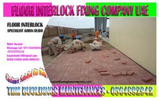 Harvey Interlock Fixing work Contractor in Dubai Sharjah Ajman