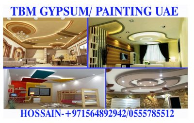 Gypsum Partition work Contractor