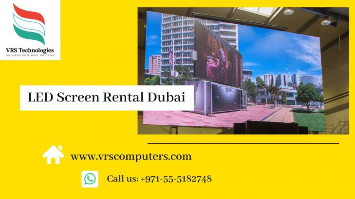 Extensive Range of LED Screen Rentals in Dubai UAE