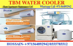 Shower Mini water cooler installation jumeirah , Arabian city sports city , al barari city
