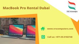 Higher Range of MacBook Pro Rental Services in Dubai