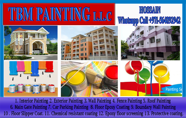 Apartment Room Painting work Company Dubai Ajman Sharjah