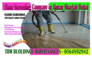 Floor Screeding & Leveling work Company in Ajman Dubai Sharjah