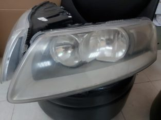 AUDI A6 2005 TO 2008 HEADLIGHTS NON XENON FOR BASIC OPTION PART NO 4FO941003