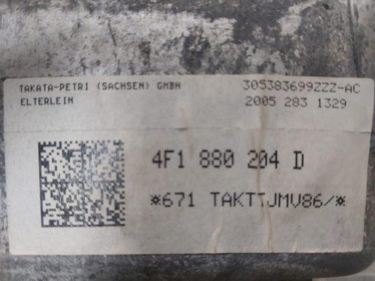 AUDI A6 2005 TO 2008 PASSENGER AIRBAG PART NO 4F1880204D