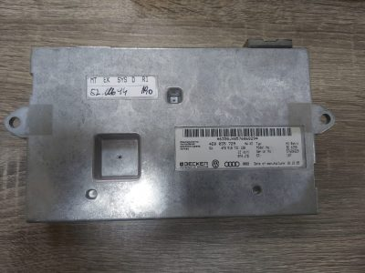 AUDI A6 2005 TO 2008 MMI MULTIMEDIA INTERFACE CONTROL MODULE 4E0035729