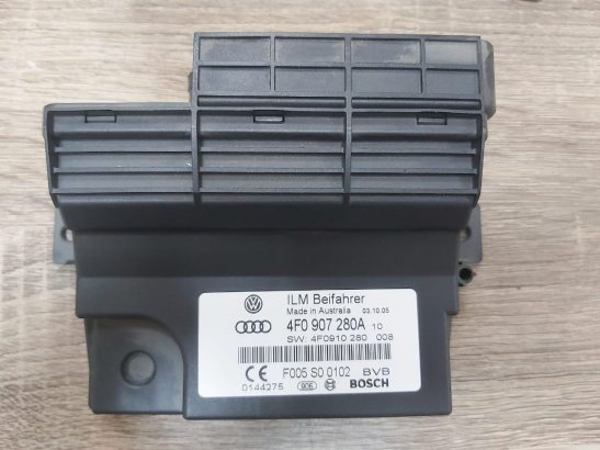 AUDI A6 2005 TO 2008 ONBOARD SUPPLY CONTROL MODULE PART NO 4F0907280A
