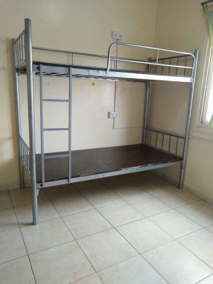 LADIES BED SPACE UP BED DHS. 700 / DOWN BED 800/ EXECUTIVE SINGLE BED 850