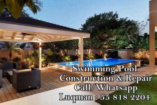 swimming pool, Garden Landscaping, Artificial grass
