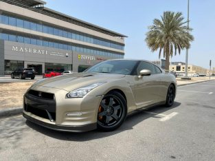 Model 2015 Nissan GT-R 45th Anniversary Edition Champagne Color Twin Turbo