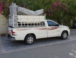 1 ton pickup truck for rent In The Greens 052-2606546
