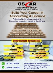 Accounting and Management Courses In Dubai