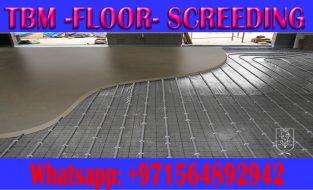 Floor Screeding & Self Leveling Applicator in Ajman Dubai Sharjah