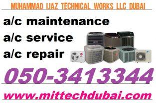 Split Ac Central Ac Duct Ac FCU Unit Service Repair Gas Filling in DIP Dubai